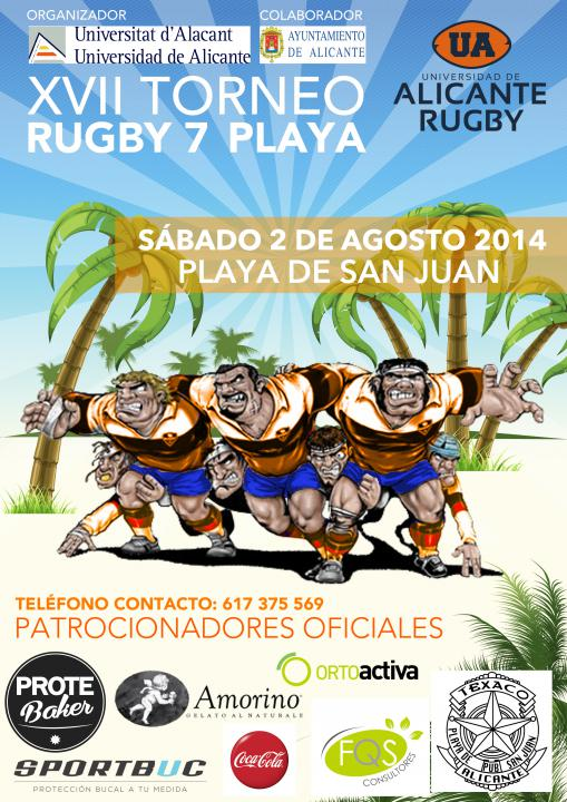 xvii rugby playa cartel